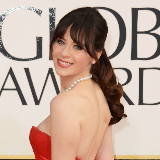 2013 Golden Globes: Zooey Deschanel