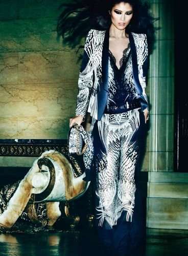 Roberto Cavalli Spring 2013