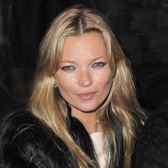 Winged eyeliner and grungy hair are Kate Moss staples, and she wore them flawlessly here in 2011.