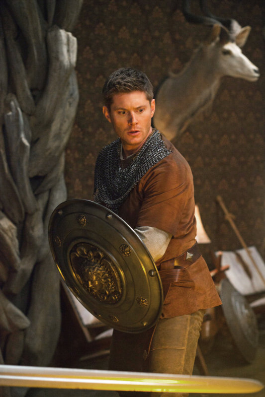 And he's off! The episode airs Jan. 26, so be sure to tune in to see Ackles in motion.