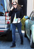 Jennifer Garner Gets Back to Her Smiley Weekday Routine