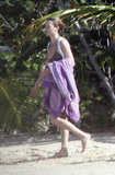 Kate Moss was on vacation in Jamaica in December 2006.