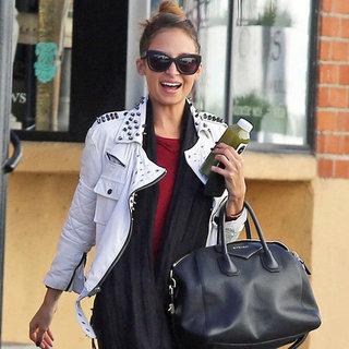 Nicole Richie With Green Juice at the Gym | Pictures