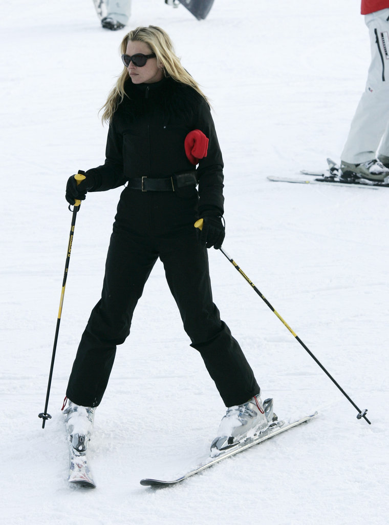 Kate went on a holiday vacation to Aspen, CO, in December 2005.
