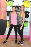 Angels Erin and Adriana Gear Up For VS' New Fitness Line