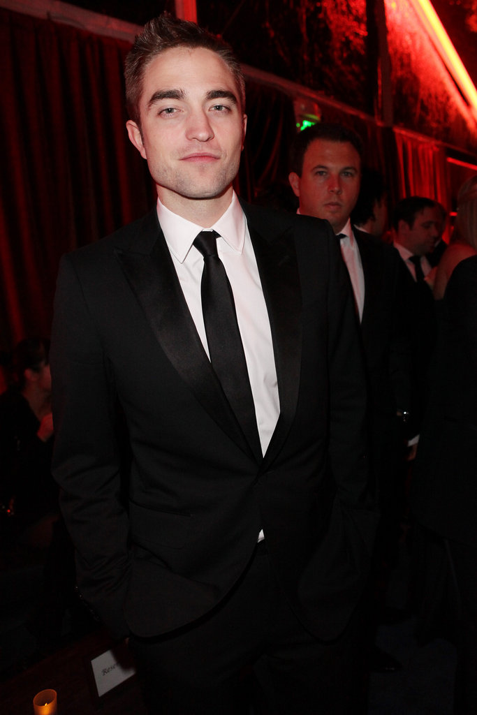 Robert Pattinson joined a Golden Globes afterparty after presenting at the award show.