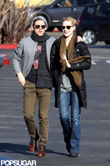 Evan Rachel Wood and Jamie Bell headed to Whole Foods.