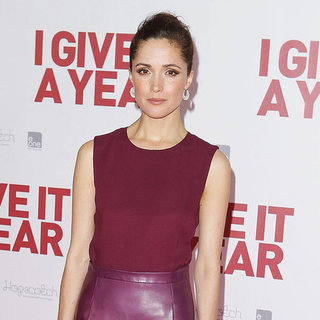 Rose Byrne Pictures Interview at I Give It a Year Premiere
