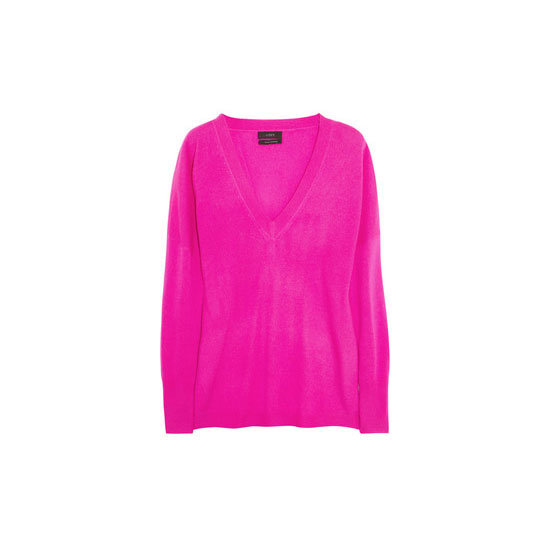 I'm dreaming of pairing shocking pink with grey and denim come Autumn. It's flattering, it's girly, and when worn with a slouchy fit it's cooler than a cucumber. — Marisa, publisher Knit, approx $ 379 J.Crew at Net-a-Porter