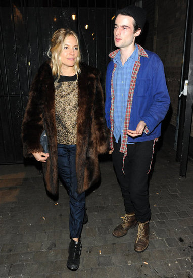 Sienna Miller and Tom Sturridge attended the No Quarter press night in London.