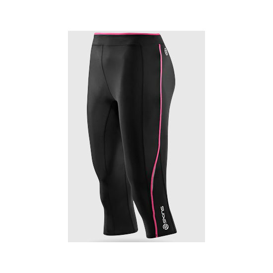 If you're into high-impact excercise you should invest in some high-performance gear to match. Skins do great compression tights that really do ease the ache after a big workout, and they look like the biz teamed with a loose-fit racer tank. Tights, $124.99, Skins