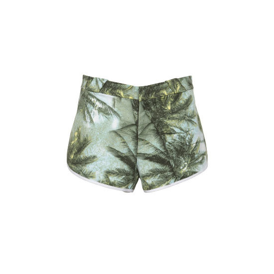 Every girl with a Spotify playlist will be wearing denim cut-offs, so why not buck the trend and don a fancy pair of printed bottoms instead? Shorts, $69.95, Ksubi