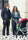 Drew Barrymore, Will Kopelman, and Olive Kopelman took a city stroll.