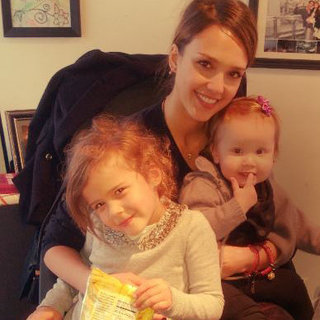 Celebrity Moms' Instagram Pictures Week of Jan. 14, 2013