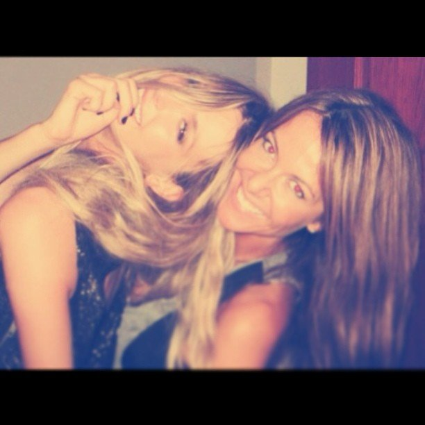 Jennifer Hawkins spent an amazing weekend with her sister. Source: Instagram user jenhawkins_