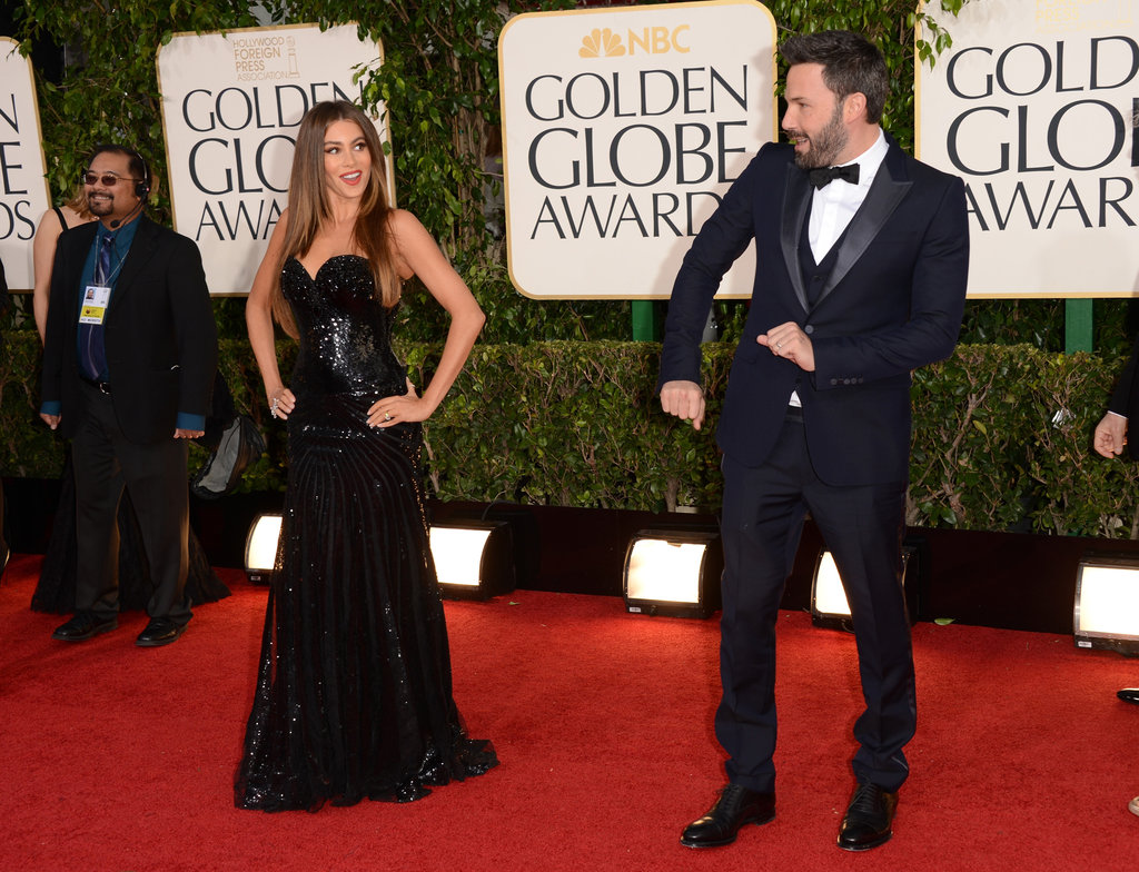Sofia Vergara and Ben Affleck took some time to tear up the red carpet at the Golden Globes on January 13.