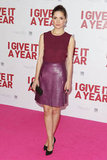 We spotted Rose Byrne on the pink carpet in Sydney when she attended the premiere of her movie, I Give It a Year on January 15.