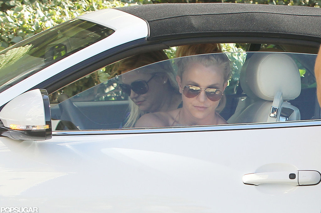 Britney Spears Buddies Up For a Weekend Outing