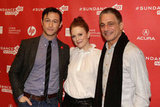 Julianne Moore, Tony Danza, and Joseph Gordon-Levitt attended the premiere of their new movie at Sundance.