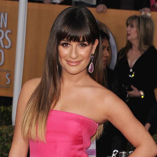 Lea Michele: SAG Awards Hair 2013