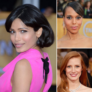 SAG Awards Hair and Makeup 2013