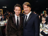 Eddie Redmayne and Tom Hooper