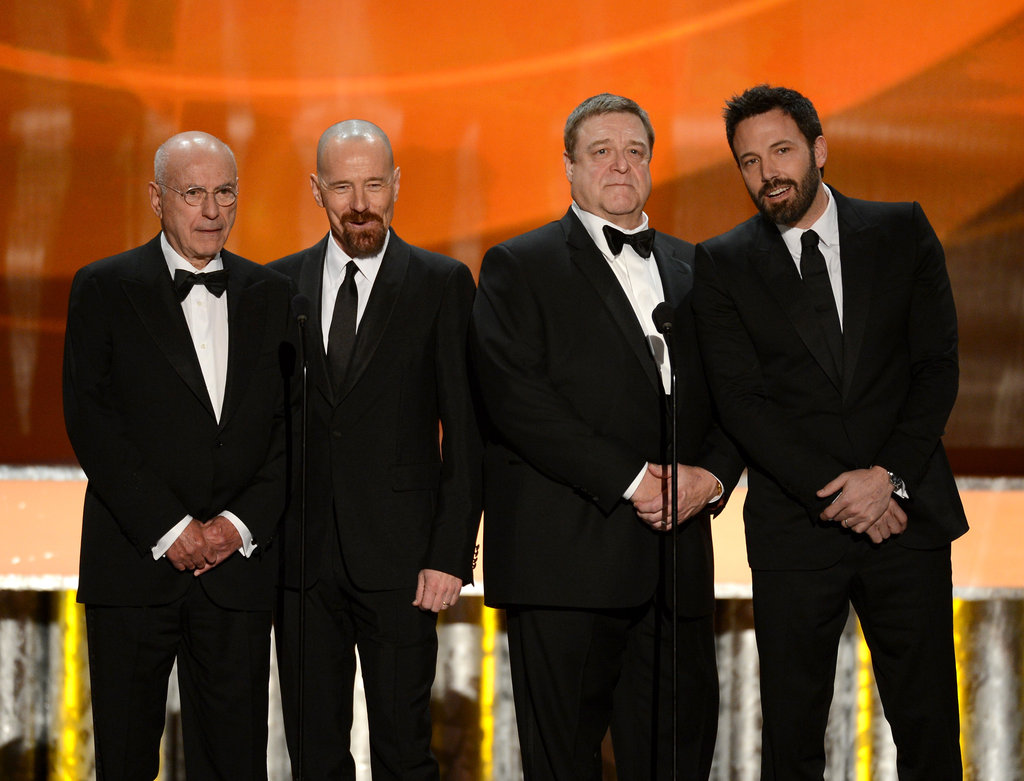 Bryan Cranston, Alan Arkin, John Goodman, and Ben Affleck