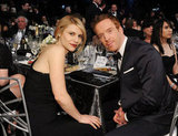 Homeland's Claire Danes and Damien Lewis shared a table.