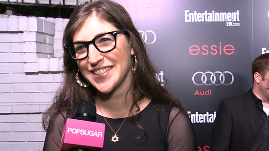 "Video: Mayim Bialik on ""Intense"" Award Season and Big Bang Theory's SAG Nod"