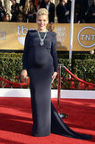 Pregnant Busy Philipps hit the red carpet at the SAG Awards.