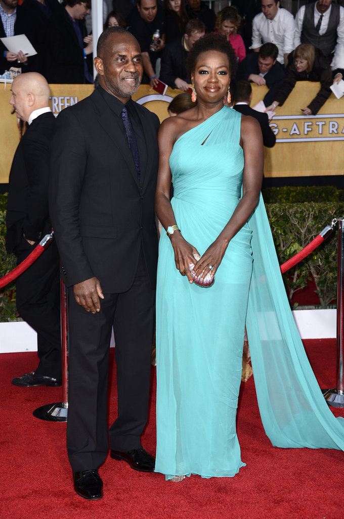 Julius Tennon and Viola Davis