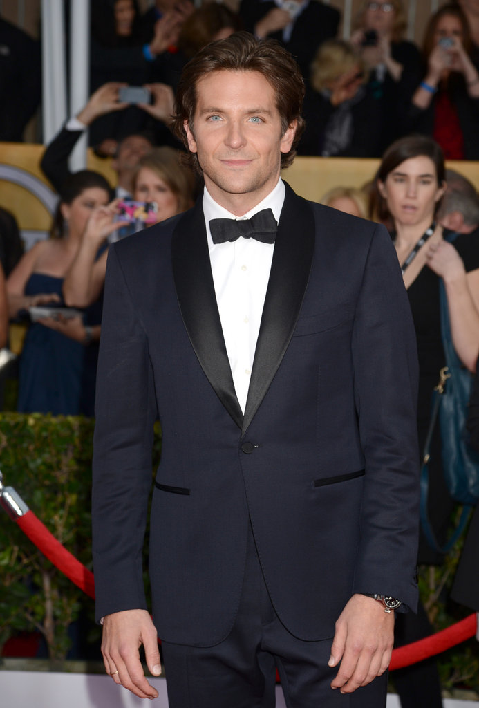 Bradley Cooper arrived at the SAG Awards on Sunday.