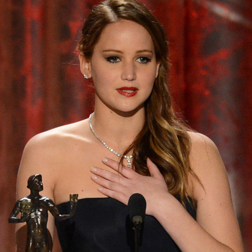 Jennifer Lawrence Thanks MTV in 2013 SAG Awards Speech