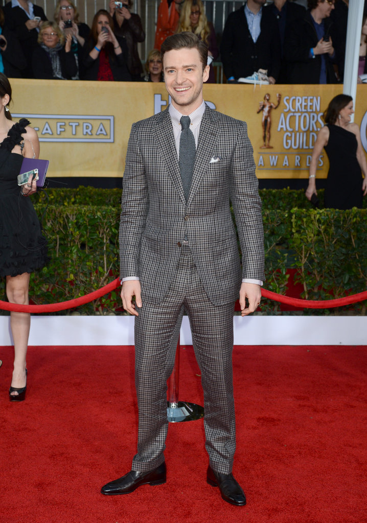 Justin Timberlake stepped out for the SAG Awards.