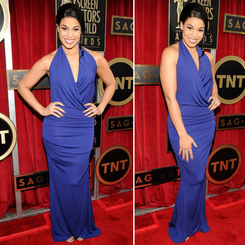 Jordin Sparks: SAG Awards Red Carpet Dresses 2013