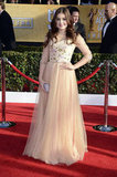 Ariel Winter bloomed in a floral embellished tulle-skirted gown by our own Alex Perry.
