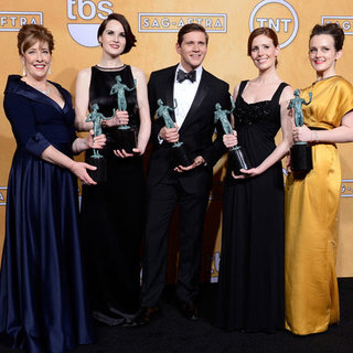 Downton Abbey Actors at SAG Awards 2013