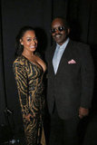 La La Anthony made an appearance at the Hip-Hop inauguration part as well on Sunday evening in DC.