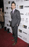 Actor Matt Bomer walked the red carpet at the Creative Coalition event during Inauguration weekend celebrations.