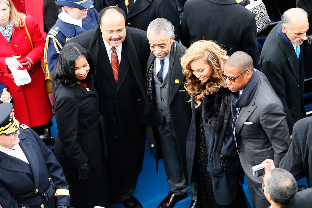 Beyoncé, Eva Longoria, and More Stars Celebrate Inauguration Weekend