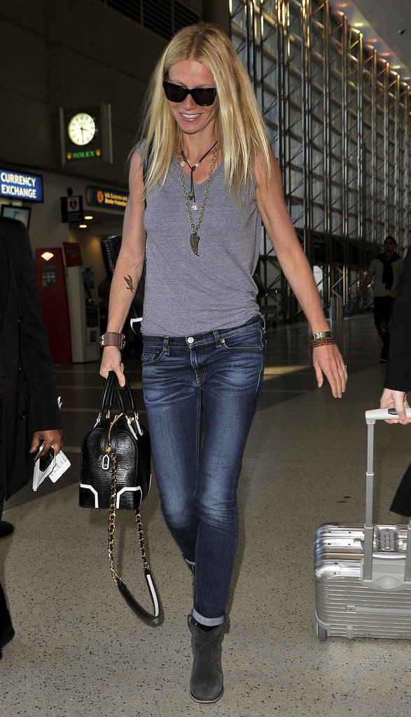 Gwyneth Paltrow Takes Flight With a New Bird Tattoo