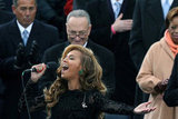 Beyonce's vocals during her national anthem performance left onlookers speechless Monday.