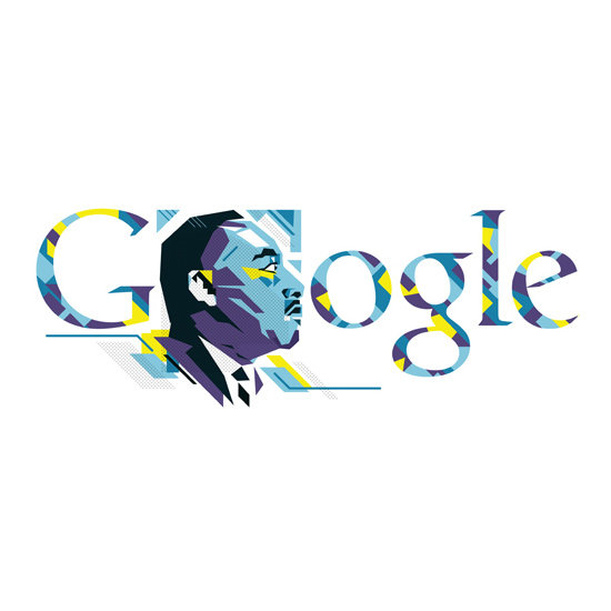 Honoring Dr. King: Google Doodles Through the Years