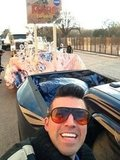 "Curiosity flight director Bobak Fedowski tweets from the Inaugural Parade: ""INAUGURAL PARADE I AM IN YOU!"" Source: Twitter user tweetsoutloud"