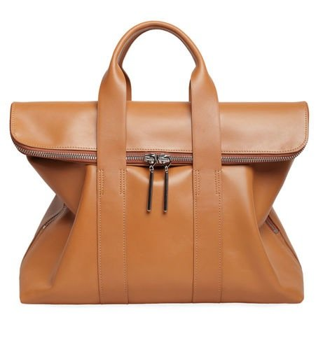 There are no words for how much we need this 3.1 Phillip Lim camel 31-Hour bag ($750). Sophisticated to the max and perfect for work.