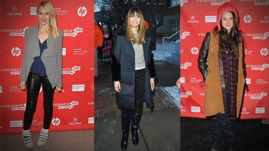 Shailene Woodley, Jessica Biel, and More Show Us How to Bundle Up in Style at Sundance!