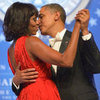 Michelle Obama and Barack Obama at 2013 Inaugural Ball