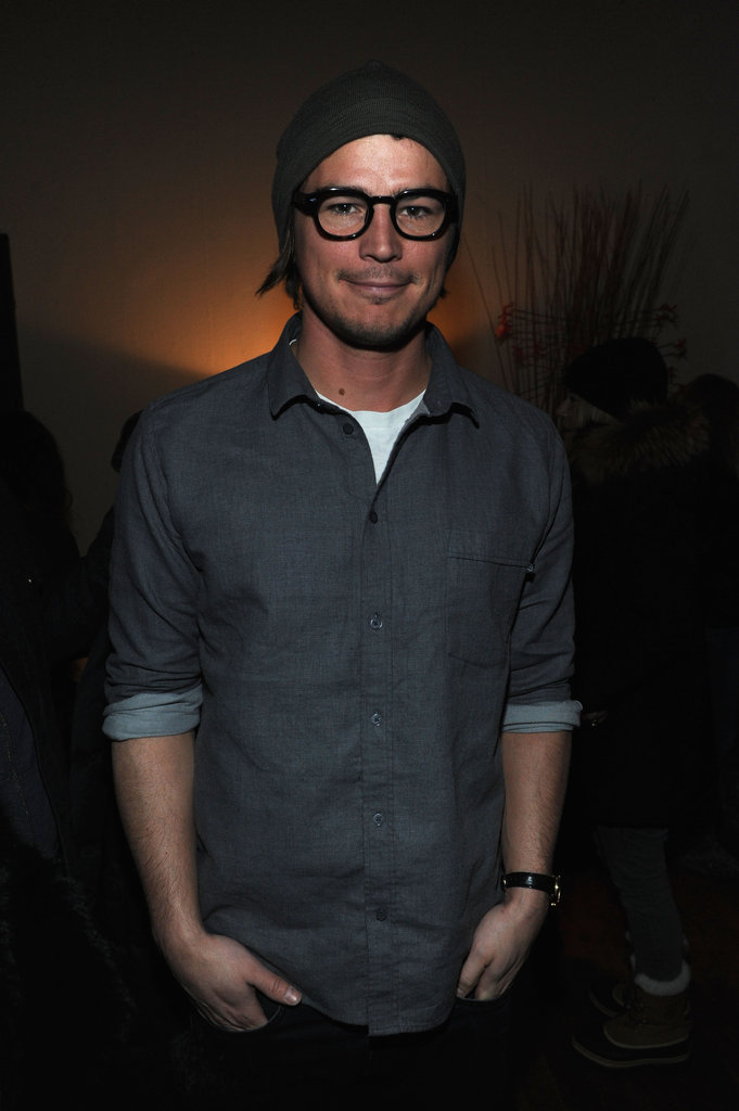 Josh Hartnett sported some sexy specs at Sundance.