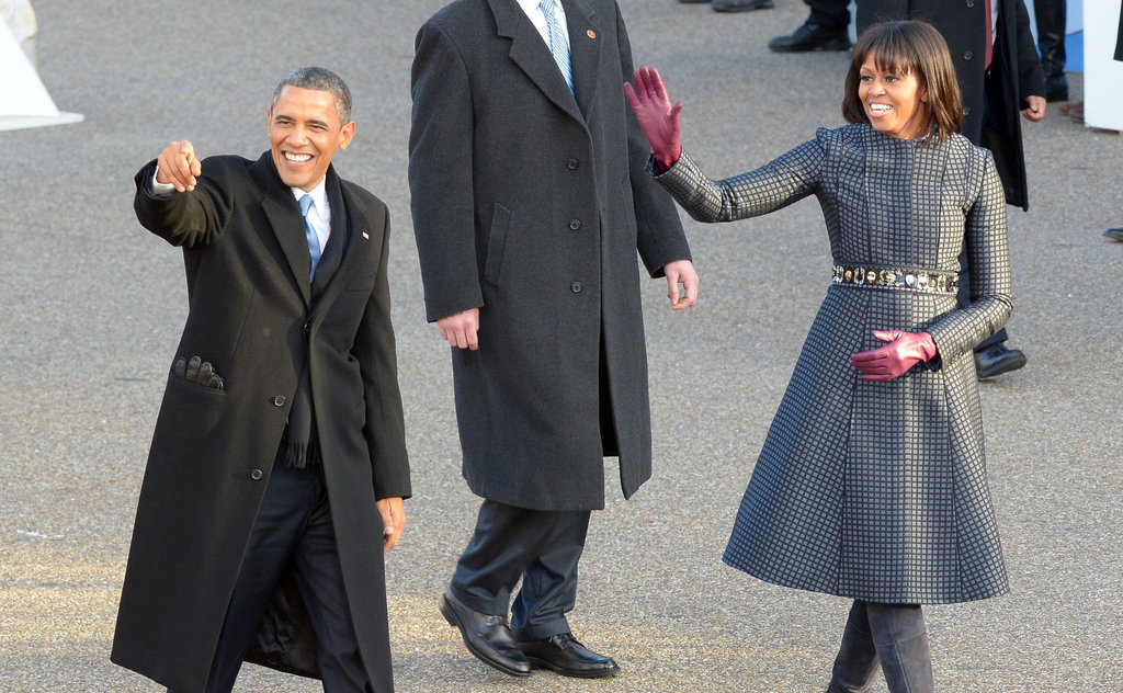 President Obama Continues Inauguration Celebrations With Luncheon and Parade