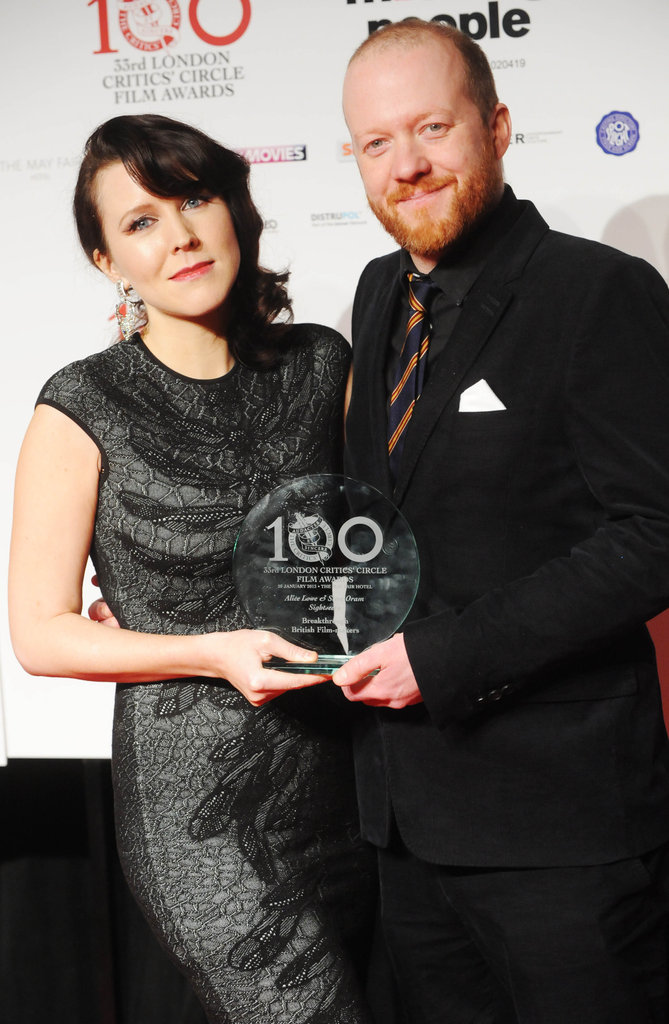 Alice Lowe and Steve Oram